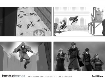 Rudi Liden's Video Games storyboard art