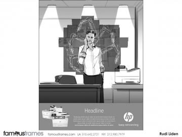Rudi Liden's Illustration storyboard art