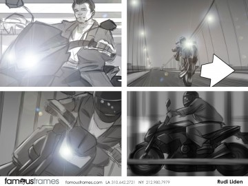Rudi Liden's Action storyboard art