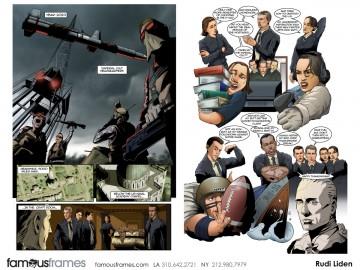Rudi Liden's Comic Book storyboard art