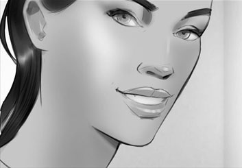 Rudi Liden's Beauty / Fashion storyboard art