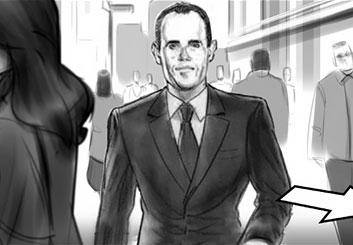 Rudi Liden's Likenesses storyboard art