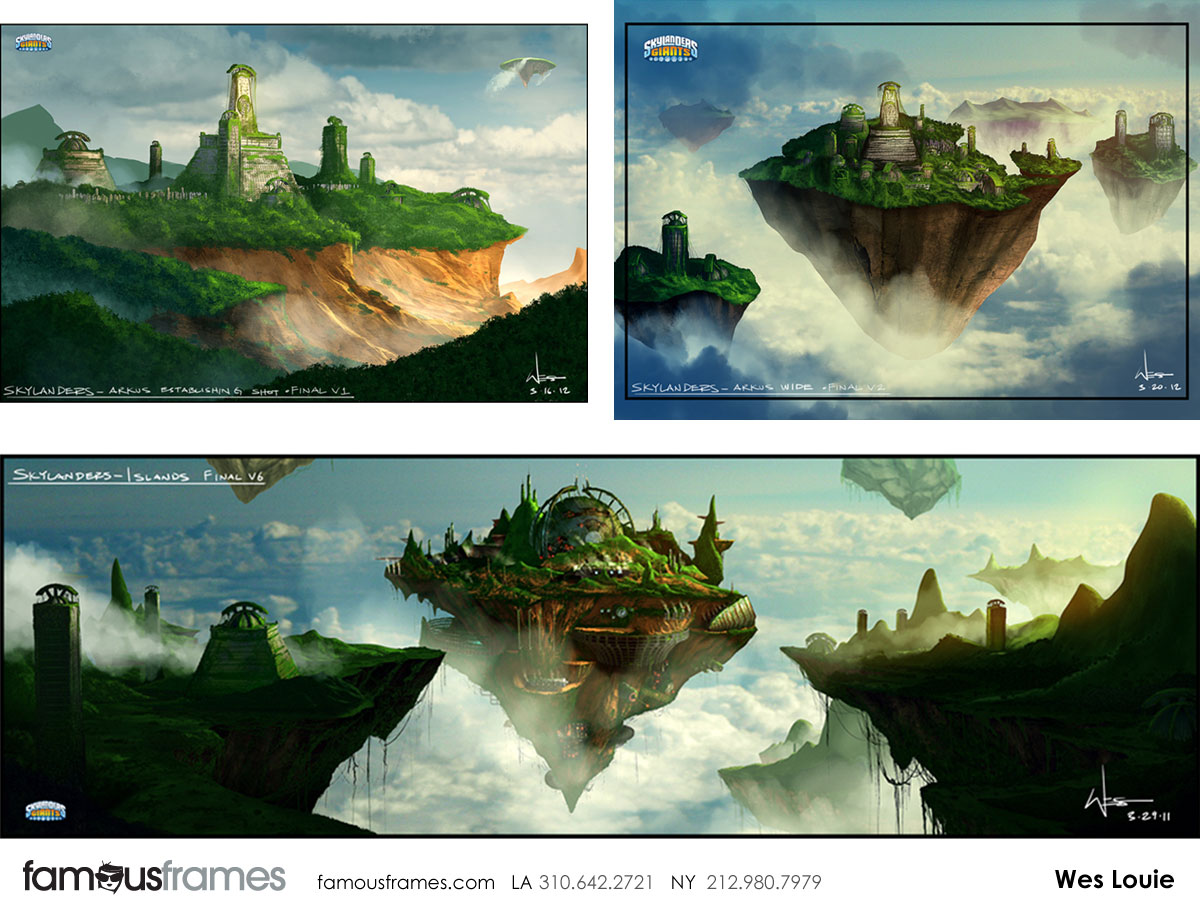 Wes Louie's Concept Environments storyboard art (Image #145_101_1366740363)