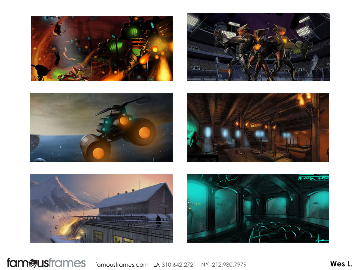 Wes Louie's Concept Environments storyboard art (Image #145_101_1366740824)