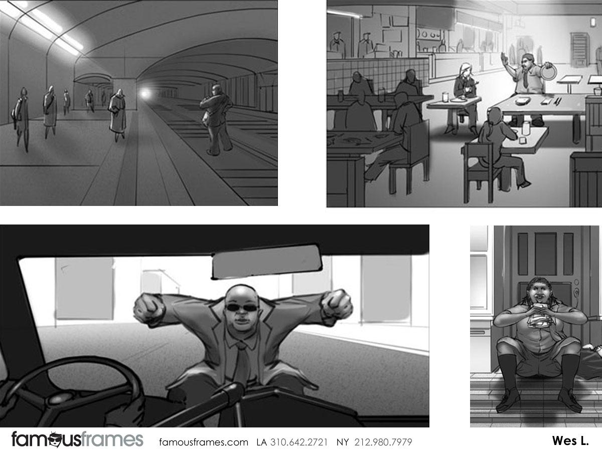 Wes Louie's People - B&W Tone storyboard art (Image #145_106_1391469409)