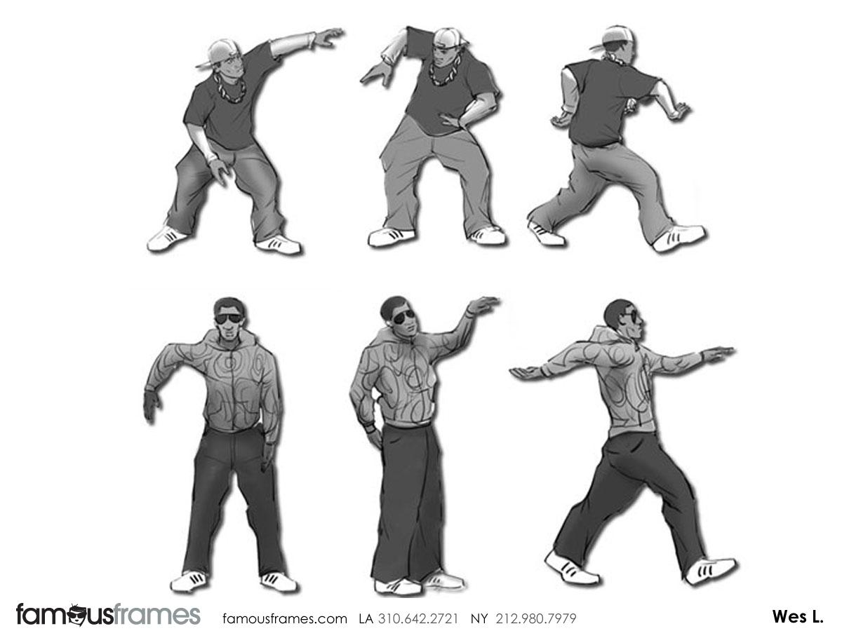 Wes Louie's People - B&W Tone storyboard art (Image #145_113_1384904859)