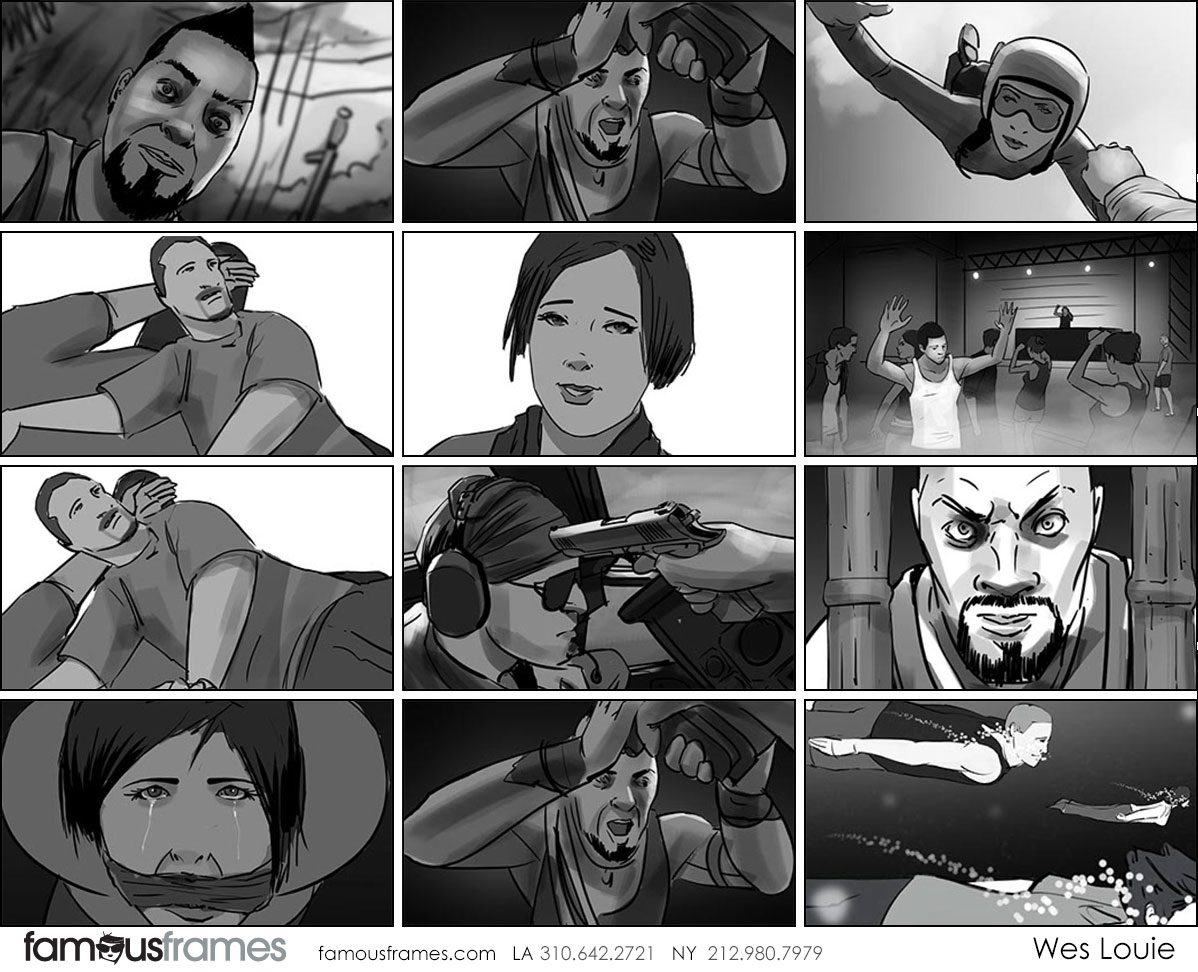 Wes Louie's People - B&W Tone storyboard art (Image #145_113_1547153223)
