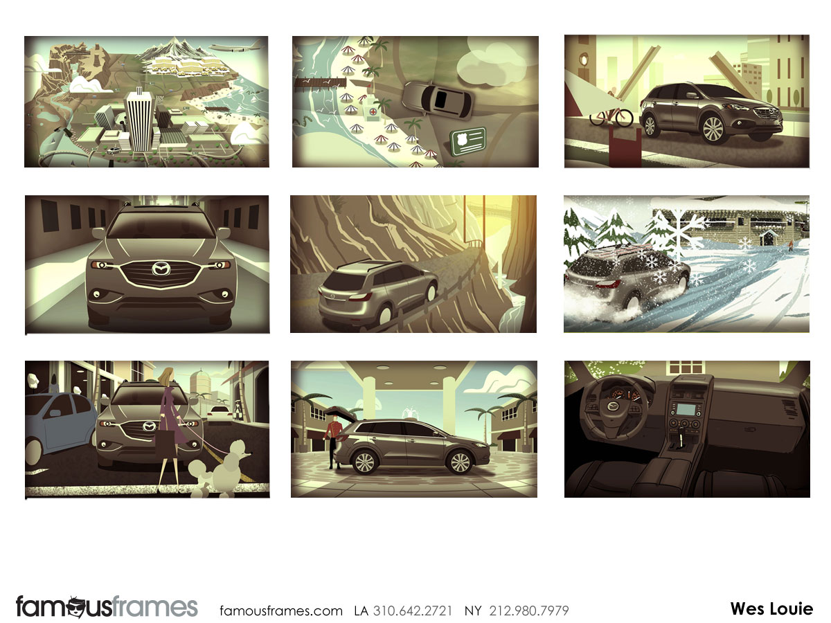 Wes Louie's Vehicles storyboard art (Image #145_24_1360705091)