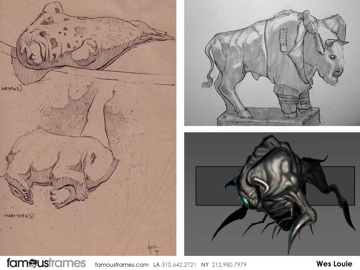 Wes Louie's Wildlife / Animals storyboard art (Image #145_6_1344970801)