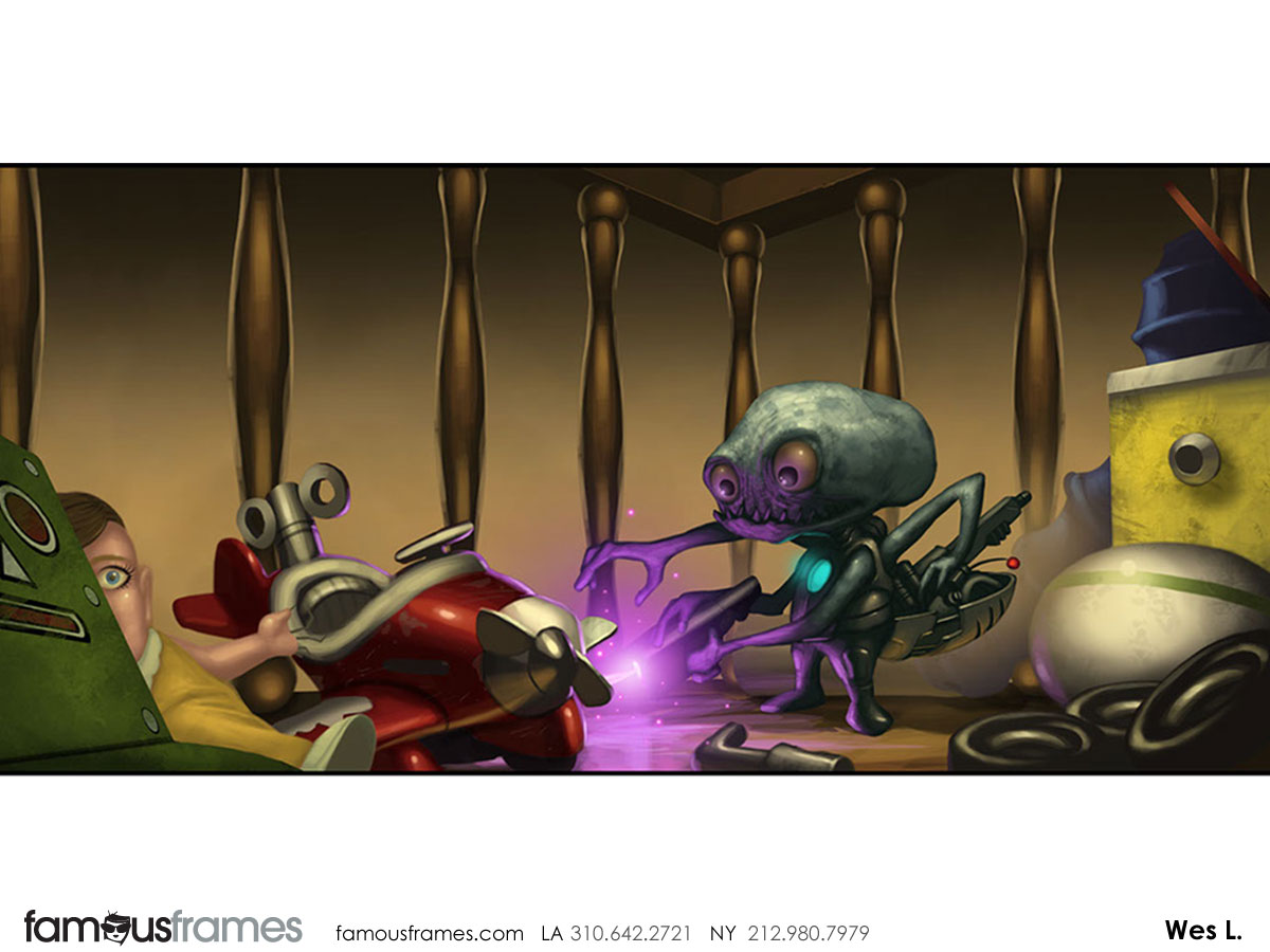 Wes Louie's Characters / Creatures storyboard art (Image #145_8_1327124995)