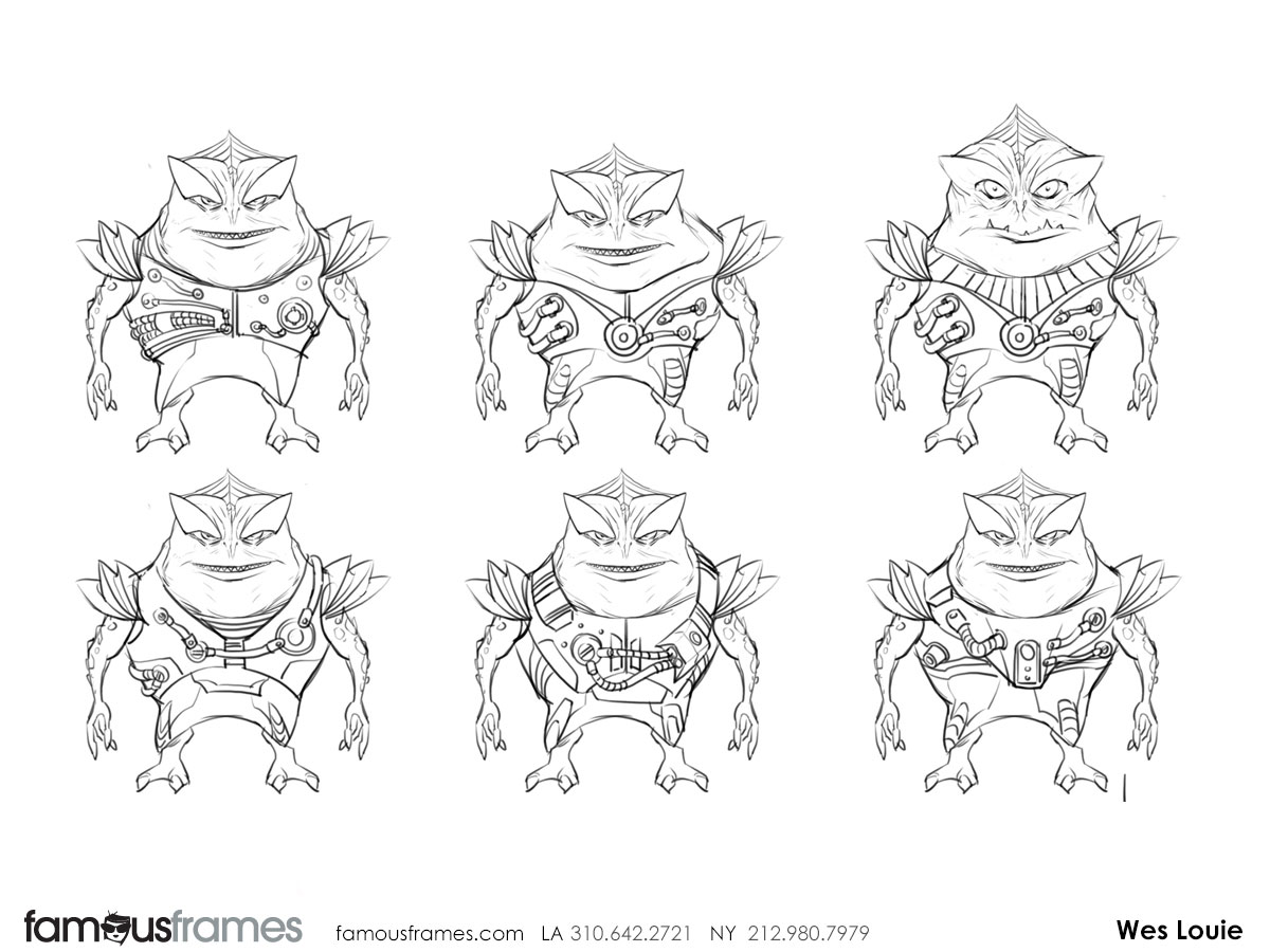 Wes Louie's Characters / Creatures storyboard art (Image #145_8_1424381625)