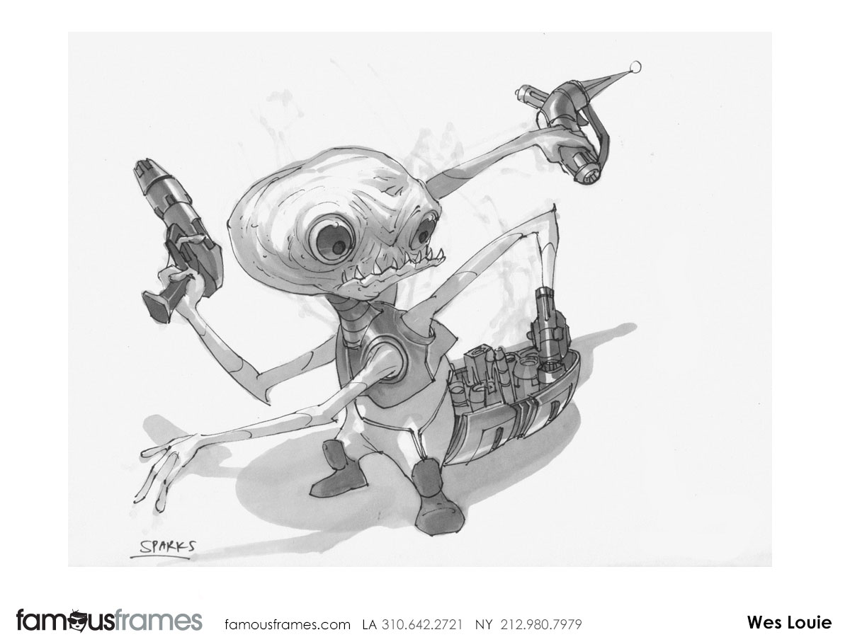 Wes Louie's Characters / Creatures storyboard art (Image #145_8_1424381682)