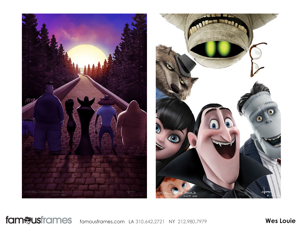 Wes Louie's Characters / Creatures storyboard art (Image #145_8_1433523877)