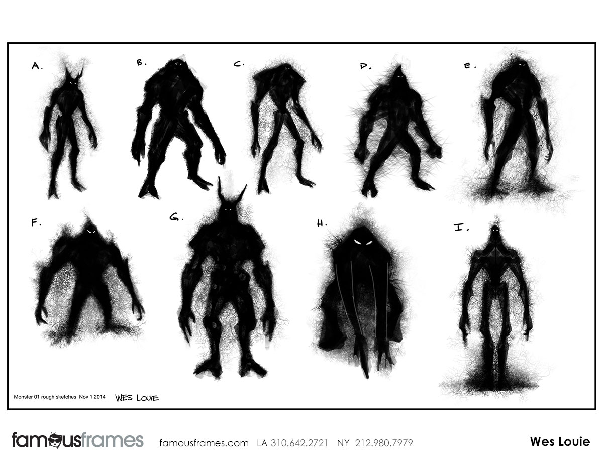 Wes Louie's Characters / Creatures storyboard art (Image #145_8_1436920437)