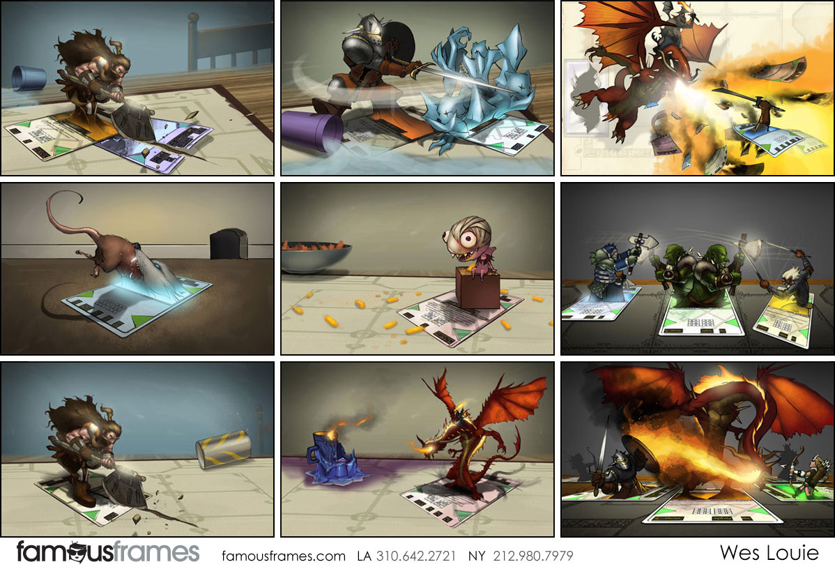 Wes Louie's Characters / Creatures storyboard art (Image #145_8_1544491744)