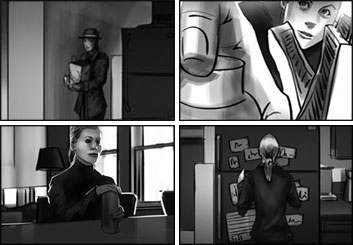 Wes Louie's Film/TV storyboard art