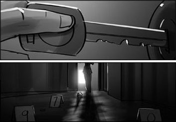 Wes Louie's Shootingboards storyboard art