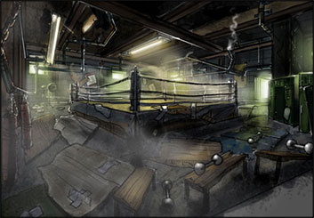 Wes Louie's Concept Environments storyboard art
