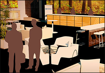 Wes Louie's Events / Displays storyboard art