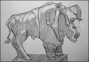 Wes Louie's Wildlife / Animals storyboard art