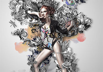 Neil Duerden's Beauty / Fashion storyboard art