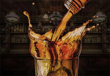 Neil Duerden's Liquids storyboard art