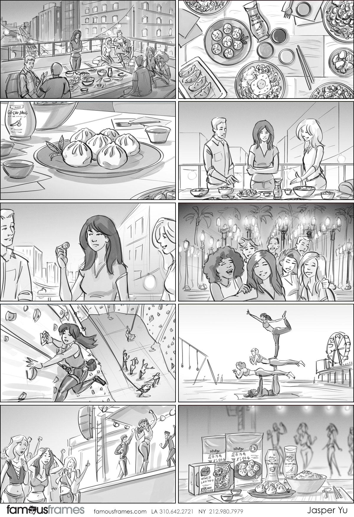 Jasper Yu's People - B&W Tone storyboard art (Image #15574_113_1571171980)