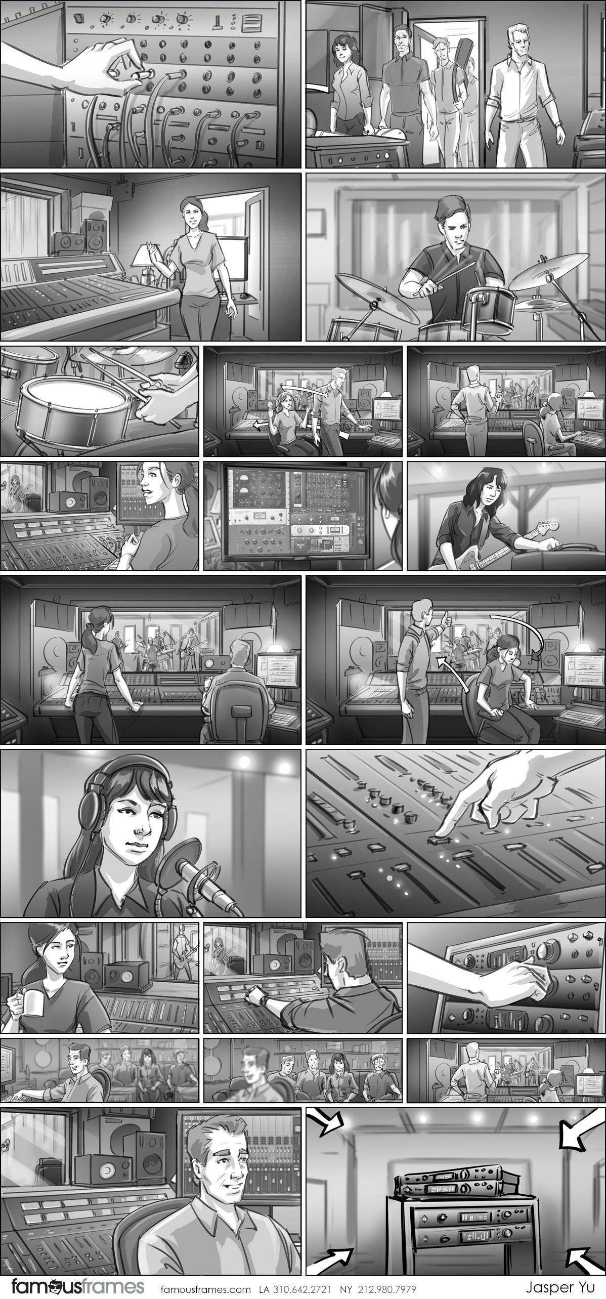Jasper Yu's People - B&W Tone storyboard art (Image #15574_113_1571257713)