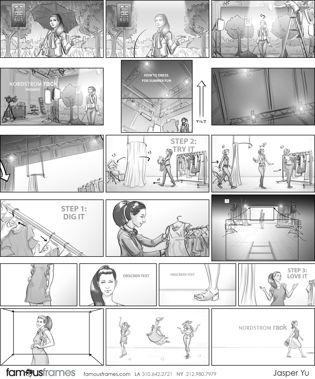 Jasper Yu's People - B&W Tone storyboard art (Image #15574_22_1536280290)