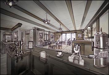 Jasper Yu's Environments storyboard art