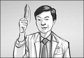 Jasper Yu's Likenesses storyboard art