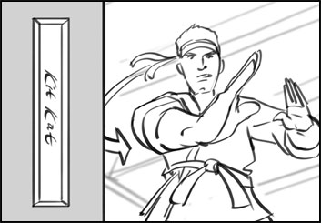 Jasper Yu's Shootingboards storyboard art