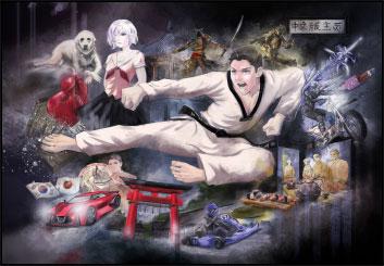 Jasper Yu's Illustration storyboard art