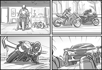 Jasper Yu's Sports storyboard art