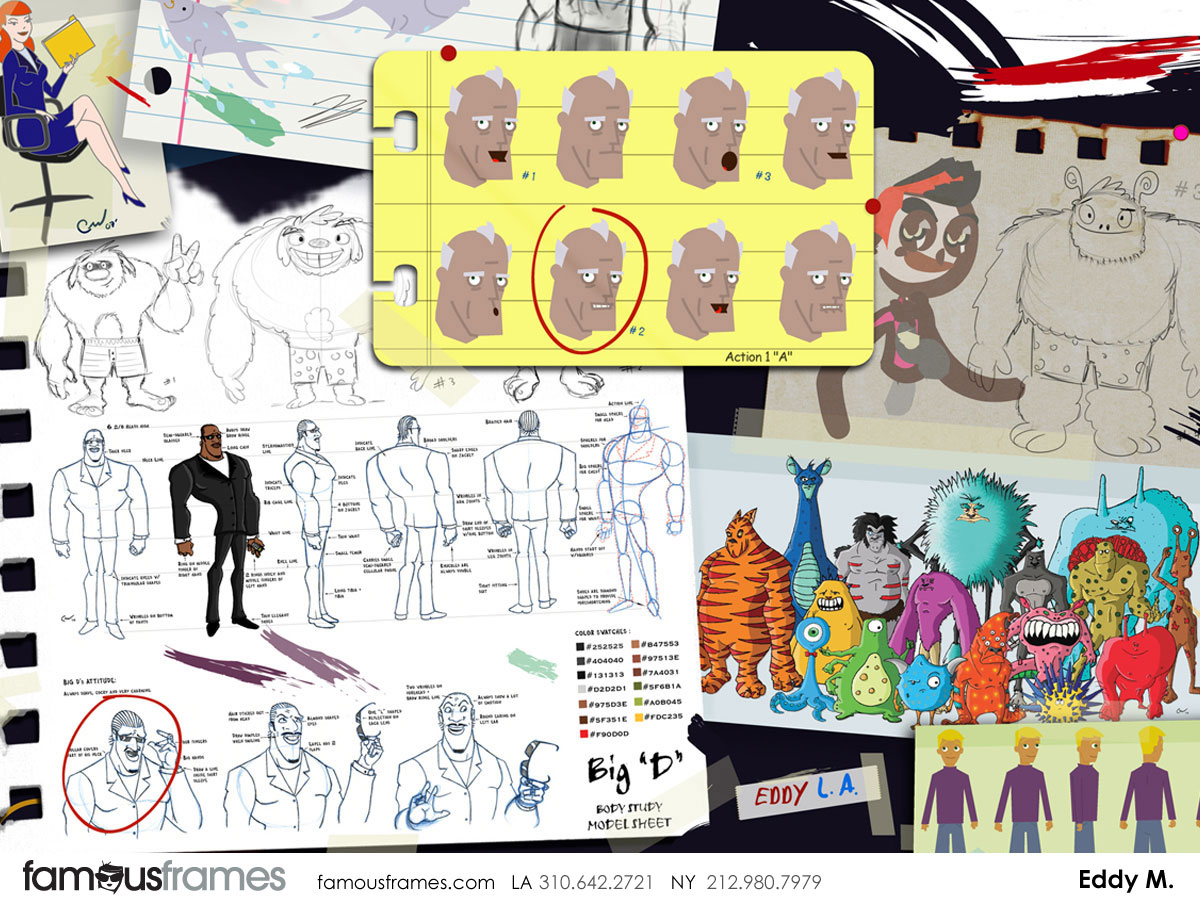 Eddy Mayer's Characters / Creatures storyboard art (Image #156_8_1326317772)