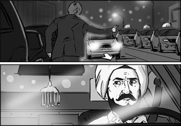 Eddy Mayer's Film/TV storyboard art