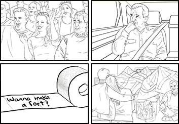 Eddy Mayer's Shootingboards storyboard art