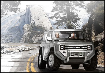 Eddy Mayer's Vehicles storyboard art