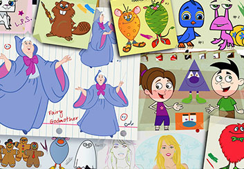 Eddy Mayer's Characters / Creatures storyboard art