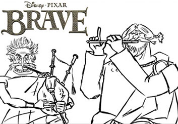 Eddy Mayer's Shooting Animation  storyboard art