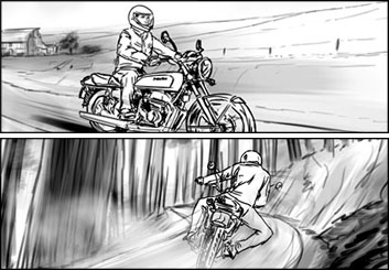 Eddy Mayer's Shootingboards storyboard art