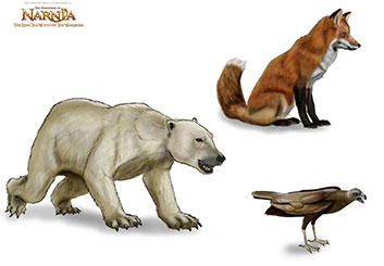 Eddy Mayer's Wildlife / Animals storyboard art