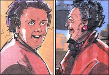 Darek Gogol*'s People - Color  storyboard art