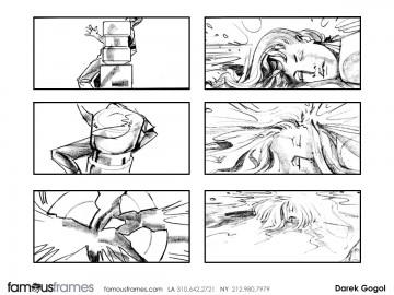Darek Gogol*'s Shootingboards storyboard art