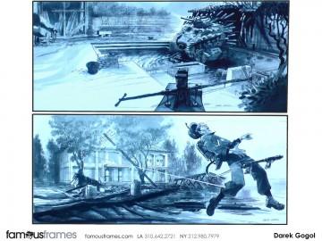 Darek Gogol*'s Action storyboard art
