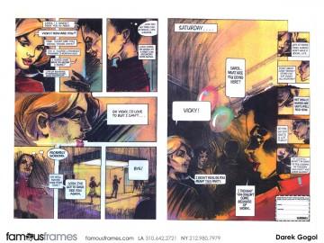 Darek Gogol*'s Comic Book storyboard art