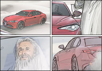 Darek Gogol*'s Vehicles storyboard art