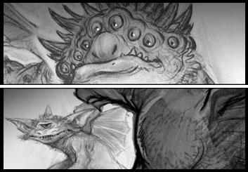 Darek Gogol*'s Characters / Creatures showcase art