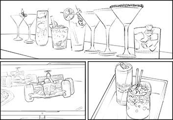 Jonathan Chung's Shootingboards storyboard art