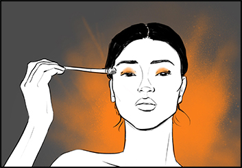 Tiffanie Young's Beauty / Fashion storyboard art